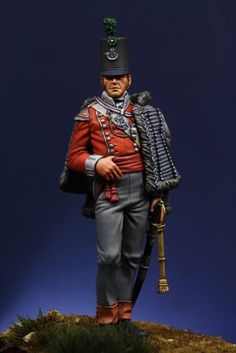 Officer of 43rd (Monmouthshire) Light Infantry.