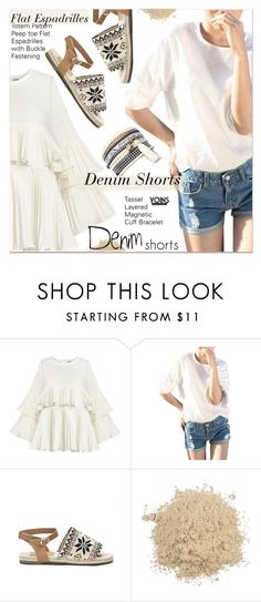"""""""The Final Cut: Denim Shorts"""" by paculi ❤ liked on Polyvore featuring jeanshorts, denimshorts and cutoffs"""