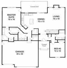 Home Design Blueprints moreover 1449 likewise Houseplans1500 1599 likewise Rustic Ranch House Plans Open Floor additionally 1539. on house plans under 2000 sq ft