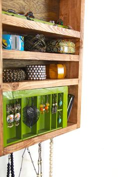 One Of A Kind Jewelry Storage unit made from by TANGLeAndFoLd, $140.00