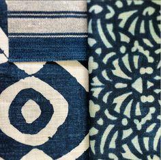 Blue mood William Yeoward for Designers Guild at Pedroso&Osório #pedrosoeosorio #williamyeoward #bluemood #textiles #pattern  www.pedrosoeosorio.com Textiles, Designers Guild, Home Collections, Fabrics, Mood, Creative, Blue, Fabric, Cloths