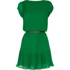 love the color and pleats, but want to change the sleeves/neckline