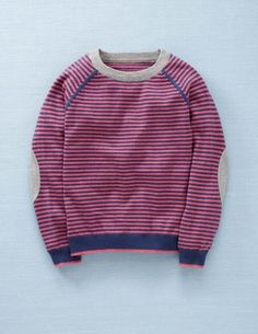V-day sweater - I love the elbow patches