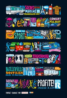 campagne Imagine'R<br /><b>Client :</b> RATP<br /><b>Agence :</b> Agence H<br />