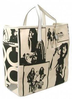 Coach Limited Edition Handbag -Canvas Print Tote « Holiday Adds