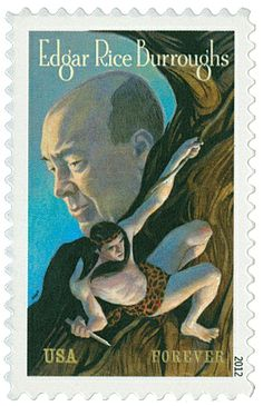 2012 45c Edgar Rice Burroughs - Catalog # 4702 For Sale at Mystic Stamp Company