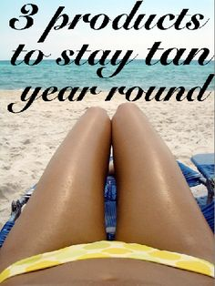 Southern girls love their tans, 3 products | Southern Girly