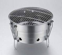 Drhob 1PC Stainless steel circular thickening folded grill outdoor barbecue grill >>> Check this awesome product by going to the link at the image.(This is an Amazon affiliate link)