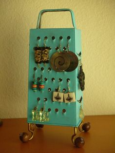 Unique Earring Stand Fun Surrealistic Style by OutStandingStands