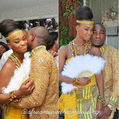 """jehovahhthickness: """" wingsndphillies: """" blackloveisbeautiful: """" dachocolatethunder: """" Traditional Ghanaian Ceremonies """" """" Its official ima marry an African Queen for sure """" Ok soooooooo where my. African Love, African Wear, African Attire, African Fashion Dresses, Nigerian Fashion, African Clothes, Ankara Fashion, African Style, Ghanian Wedding"""