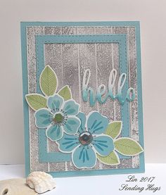 is what I was going for with today's card, made to enter the Camp Create Day 2 challenge, and inspired by this photo I found on Pinter. Chocolate Card, Sending Hugs, Some Cards, Cards For Friends, Wood Planks, Flower Cards, Pattern Paper, Colored Pencils, I Card