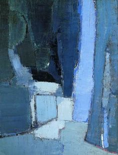 art art abstracto Nicolas de Stael : Entre art a Abstract Landscape Painting, Landscape Paintings, Abstract Art, Blue Painting, Watercolor Landscape, Painting Art, Art Moderne, Fine Art, Contemporary Paintings
