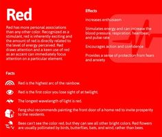 The meaning of colors color chart graphicdesign colors - Colors effect on mood ...