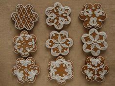 Christmas Treats, Winter Christmas, Christmas Cookies, Iced Cookies, Fun Cookies, Cookies Decorados, Gingerbread Decorations, Xmas Food, Pound Cake