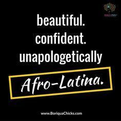 #beautiful #confident #unapologetically #afrolatina