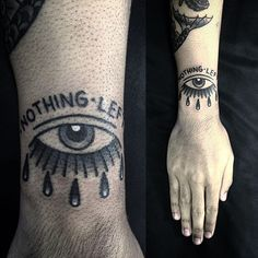 eye tattoo Angel Devil Tattoo, Angel And Devil, Teardrop Tattoo, Shape Tattoo, Male Eyes, Body Mods, Tattoo Designs Men, All Tattoos, Tatting