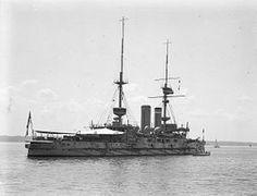 HMS Implacable fue un formidable -class acorazado de la British Royal Navy , el segundo barco de ese nombre. Encargado en septiembre de 1901, se le asignó a la flota mediterránea y sirvió con la flota hasta 1908. Después de una reparación, se trasladó a la flota del canal , luego a la Flota del Atlántico en 1909. A estas alturas de mayo de obsoleto por la aparición del acorazado naves de la clase,