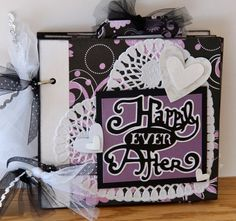 Wedding Scrapbook Album Wedding Mini Album by PaperPrettiesandMore, $32.00