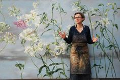 I'm not sure if I'm in love withClaire Basler's botanical paintings…or her studio. When I read an article about her in 'World Of Interiors' in 2004, working in an old ironworks on the outskirts of Paris, I was smitten.Lots of colourful press to look at on her website, with a peek at her country house...Read More