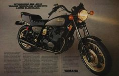 Yamaha XS Eleven Midnight Special (1980) ad.