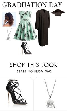 """Untitled #2150"" by gime-18 ❤ liked on Polyvore featuring Dolce&Gabbana and graduationdaydress"