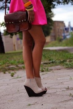 Wedges are my new obsession!
