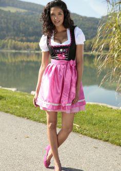 STOCKERPOINT Pinkes Dirndl #Wiesn #Oktoberfest #Trachtenmode | HeidisTrachten.de