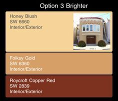 Spanish Mediterranean Stucco Colors | stucco color combinations | Paint Colors For Your House Exterior ...