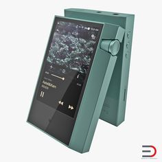 Portable Music Player Astell and Kern AK70 3D