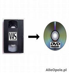 PRZEGRYWANIE KASET VIDEO VHS NA DVD ```````````` VHS na DVD ```````````` Opole - alleopole.blog