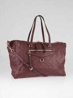 Louis Vuitton Flamme Monogram Empriente Leather Lumineuse GM Bag