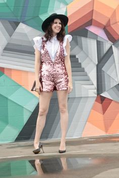 The Sequin Romper You Never Knew You Needed | Greta Hollar