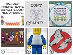 Free Patterns: Geeky Delight