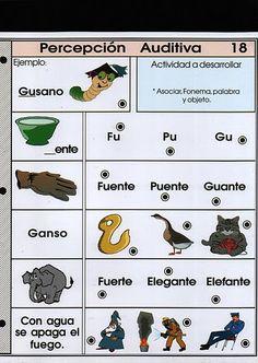 Conciencia Fonológica - Percepción Auditiva - eduteka plus - Álbumes web de Picasa