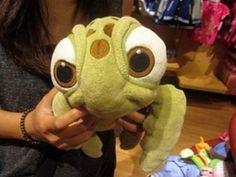 Baby T needs a Squirt. Disney stuffed animals