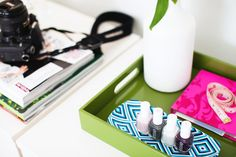 Add style to your office with things that you love and things that inspire you   www.style-n-naina.com