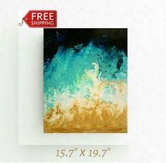 Free shipping abstract original by ElenDenArt