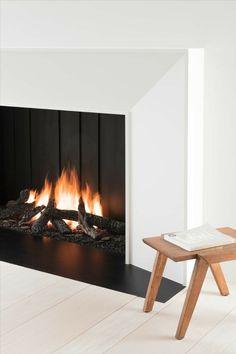 Foyers, Wood Logs, Open Fireplace, Minimalist Design, Insert, The Unit, Urban, Pure Products, Latest Technology