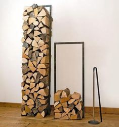 Fireplace wood holder - For or very own lumberjack.