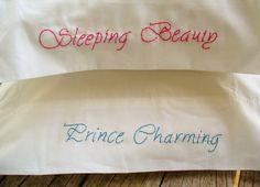 Embroidery pillowcase   Embroidered Pillowcases