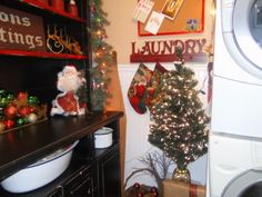 Christmas in the laundry