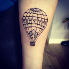 small hot air balloon with quote tattoo - Google Search