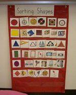 Preschool math, Pre-K Math, Shapes in Math Work Stations Kindergarten Math Activities, Preschool Math, Math Classroom, Maths, Kindergarten Shapes, Classroom Ideas, Math Stations, Work Stations, Math Centers