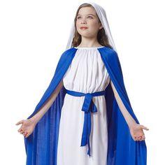 Mary Child Christmas Costume #nativity http://www.costumebox.com.au/kids-costumes/girls-costumes/mary-child-christmas-costume.html