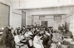 Teachers Learning Rope Tying 1918 Abc School, School Classroom, Rope Tying, Historical Society, All Over The World, Wisconsin, Schools, Teacher, History