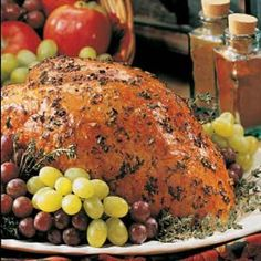 Herbed Turkey Breast - We made it in the crockpot and it was AMAZING.