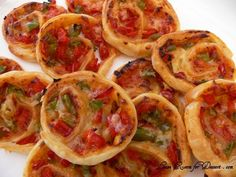 PizzaWheels - Make them ahead of time and reheat later. Love it!