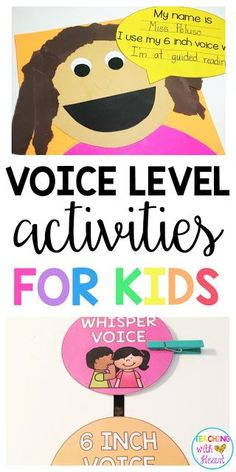 My mission this summer was to figure out how to teach my new kinders about their volume in a kid-friendly way. As much as I kept telling my kids to whisper, they really had NO IDEA what a whisper was! Read to see how I did it. Effective Classroom Management, Classroom Management Plan, Behaviour Management, School Classroom, Classroom Activities, Classroom Ideas, Drama Activities, Primary Classroom, Classroom Organization