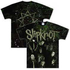 Slipknot Allover Text T-Shirt
