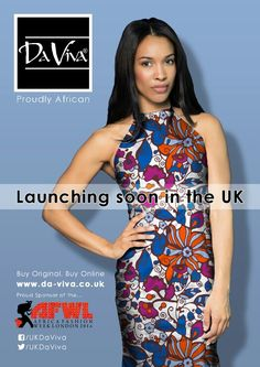 Hope everyone is enjoying the sun! Da viva print will be great this summer! Buy original. Buy online.